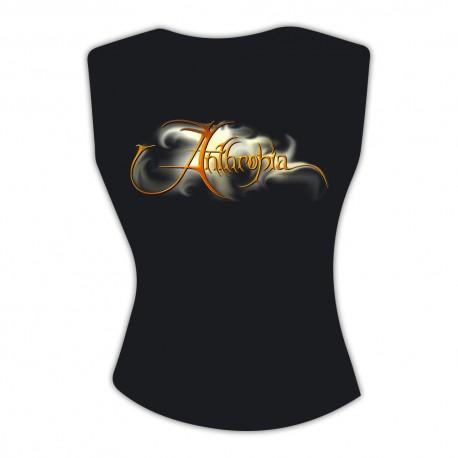 "T-shirt ""Logo Anthropia"" Woman - Sleeveless"